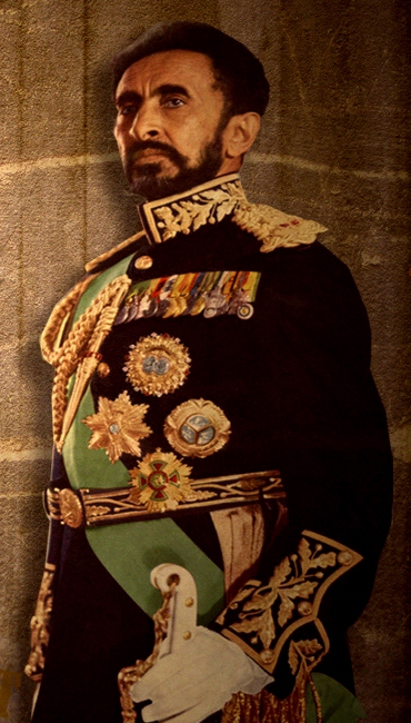 Haile Selassie Riding ...